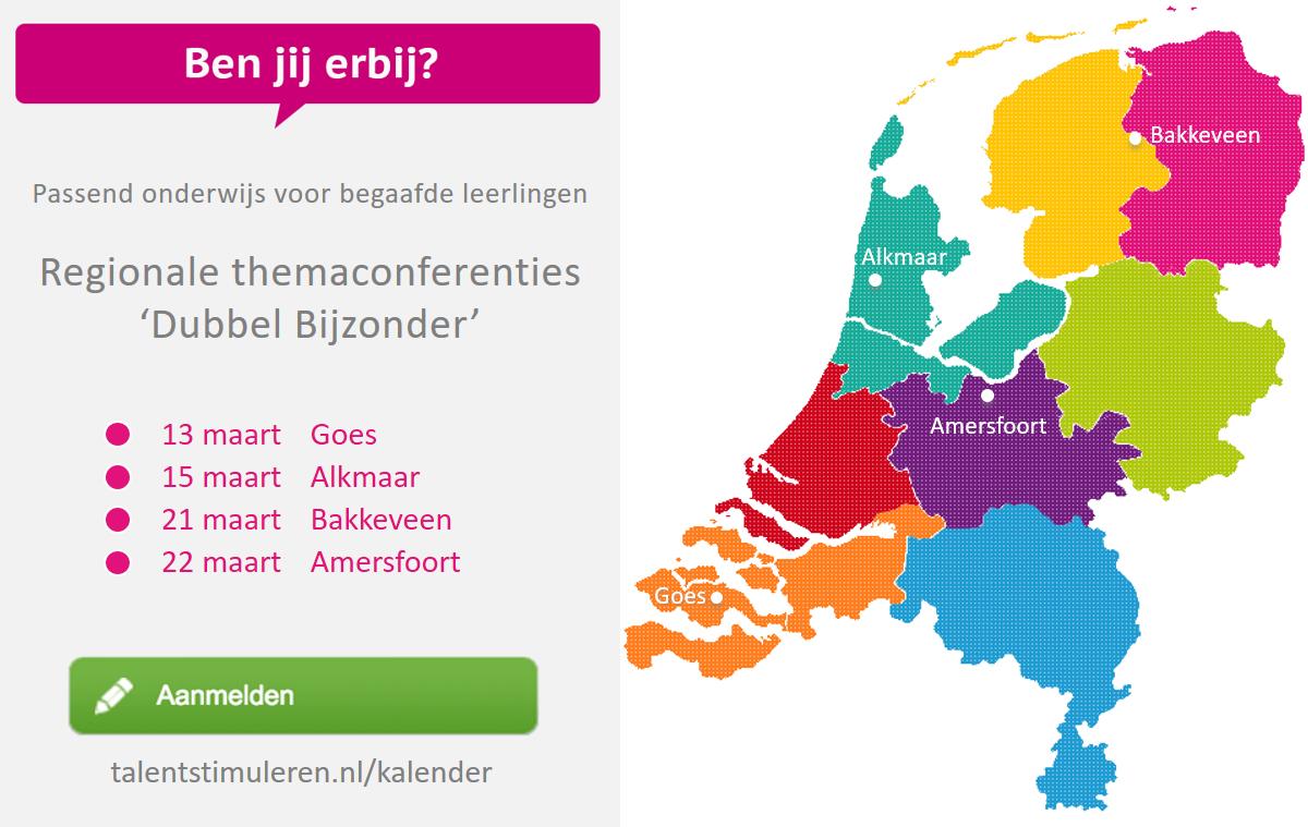 Regionale themaconferenties Dubbel Bijzonder